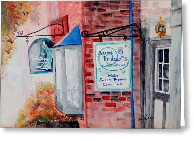 Harpers Ferry Paintings Greeting Cards - Sweet Things Greeting Card by Paula Day