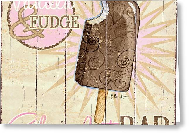 Treat Greeting Cards - Sweet Treat Signs III Greeting Card by Paul Brent