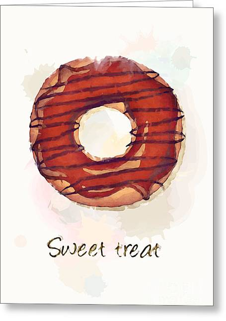 Menu Photographs Greeting Cards - Sweet treat.jpg Greeting Card by Jane Rix