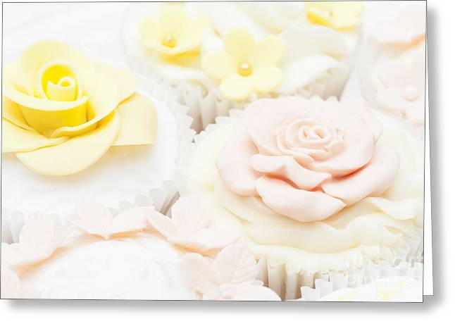 Frosting Greeting Cards - Sweet Treats Greeting Card by Anne Gilbert