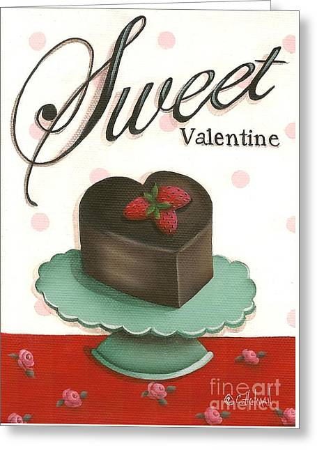 Sweet Valentine  Greeting Card by Catherine Holman