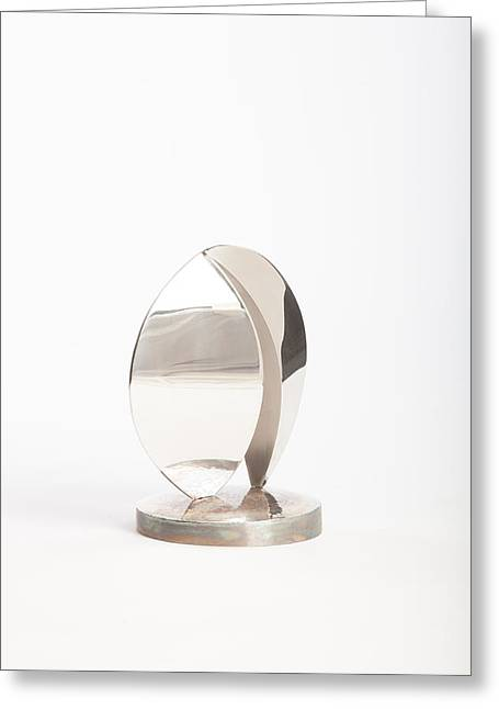 Silver Sculptures Greeting Cards - Swells Greeting Card by Jon Koehler