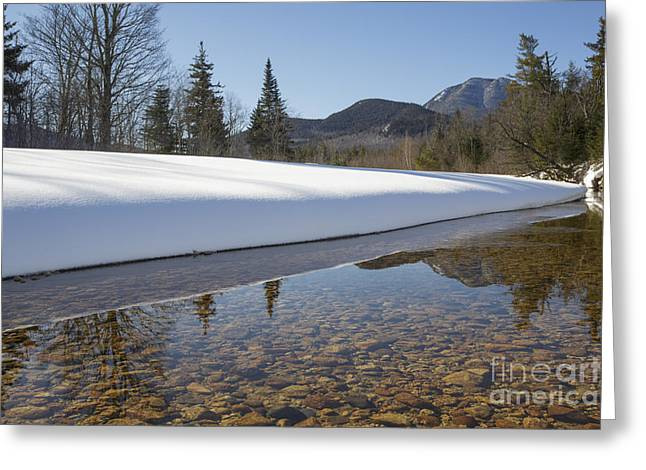 White River Scene Greeting Cards - Swift River - Albany New Hampshire USA Greeting Card by Erin Paul Donovan