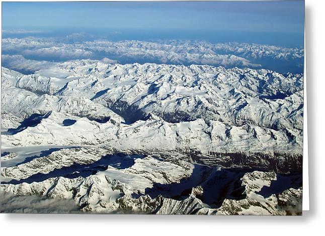 Swiss Greeting Cards - Swiss Alps Greeting Card by Ellen Henneke