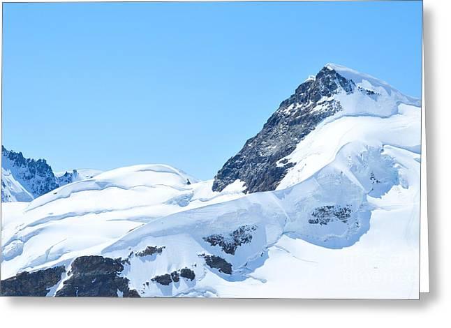 Swiss Photographs Greeting Cards - Swiss Alps Greeting Card by Joe  Ng