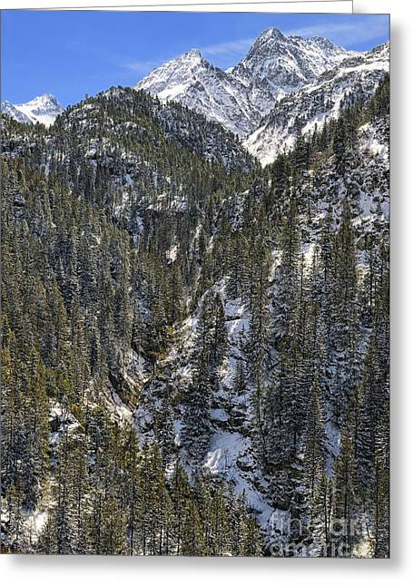 Berne Canton Greeting Cards - Swiss Alps - Susten Pass - Switzerland Greeting Card by JH Photo Service