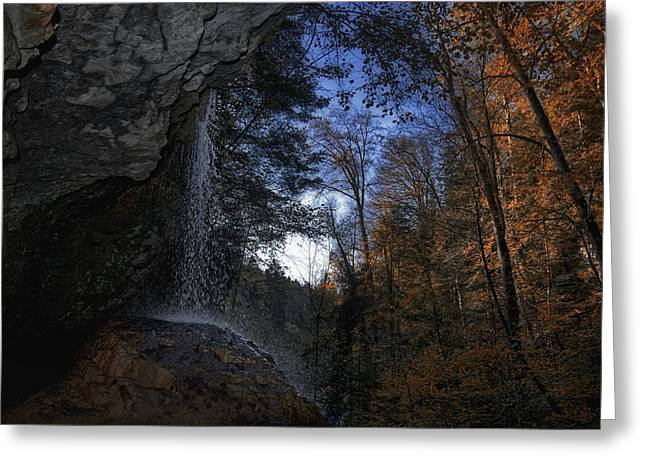 Pictorial Landscape Greeting Cards - Swiss Fall Greeting Card by Joachim G Pinkawa