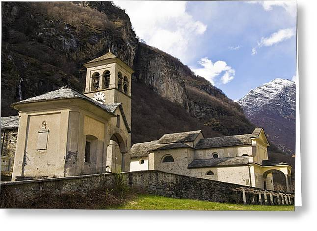 Vallemaggia Greeting Cards - Switzerland, Canton Ticino Greeting Card by Tips Images