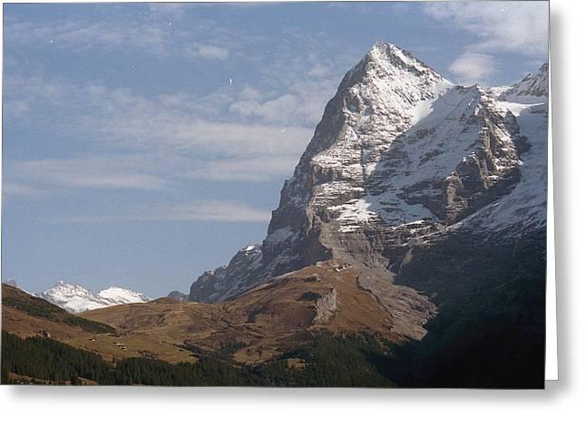 Europe Greeting Cards - Switzerland Peak Greeting Card by Marcio Faustino