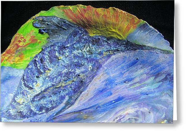 Swordfish Paintings Greeting Cards - Swordfish in the Sun Greeting Card by Debbie Nester
