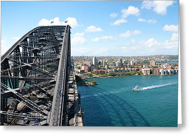 Observation Greeting Cards - Sydney From Top Of Observation Pylon Greeting Card by Panoramic Images