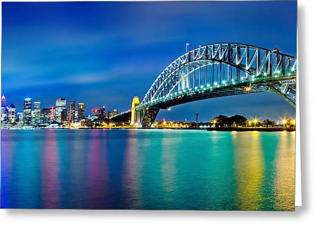 Winter Photos Photographs Greeting Cards - Sydney Icons Greeting Card by Az Jackson