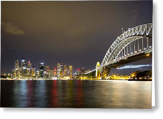 Coat Hanger Greeting Cards - Sydney Greeting Card by Michael James