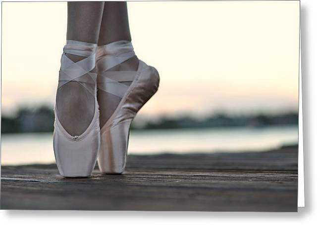 Ballet Dancer Greeting Cards - Sylph Greeting Card by Laura  Fasulo
