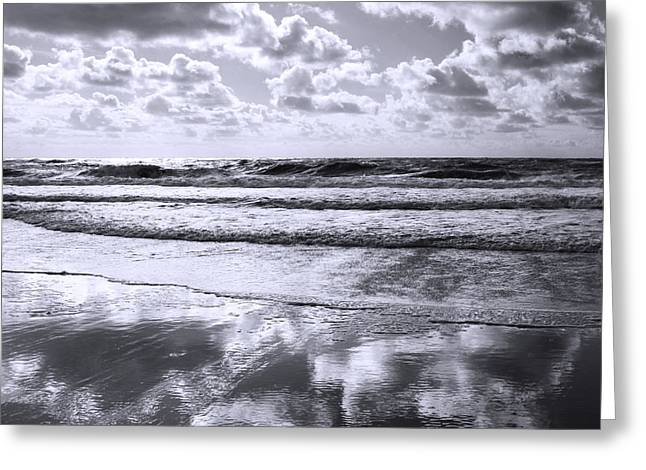 Refection Greeting Cards - Sylt Square O1 Greeting Card by Steffi Louis