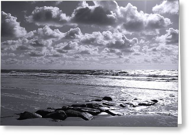 Refection Greeting Cards - Sylt Square O2 Greeting Card by Steffi Louis