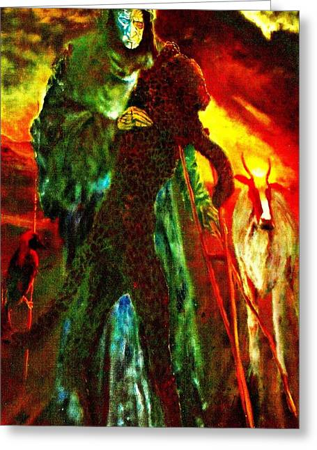 Henryk Greeting Cards - Symbiosis Greeting Card by Henryk Gorecki
