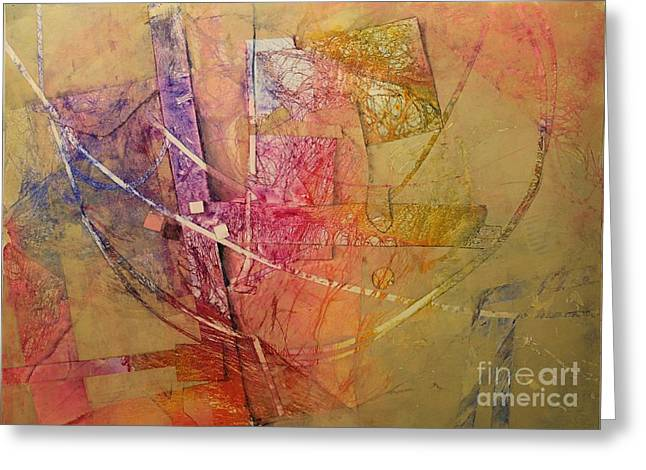 Recently Sold -  - Elizabeth Carr Greeting Cards - Symphony I Greeting Card by Elizabeth Carr