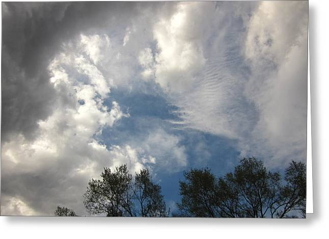 Guy Ricketts Photography Greeting Cards - Symphony Of Clouds Greeting Card by Guy Ricketts