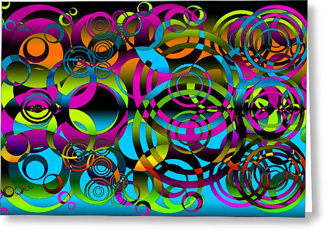 Yang Greeting Cards - Synchronicity 3 Greeting Card by Angelina Vick