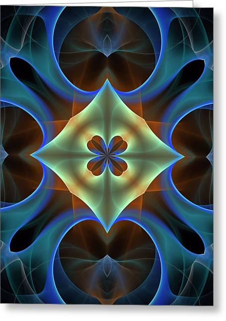 Divorce Mixed Media Greeting Cards - Synchronization-Panel-Left-or-Right-1BB Greeting Card by Bill Campitelle