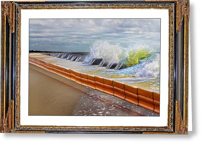 Sand Key Greeting Cards - Synergy  Greeting Card by Betsy C  Knapp