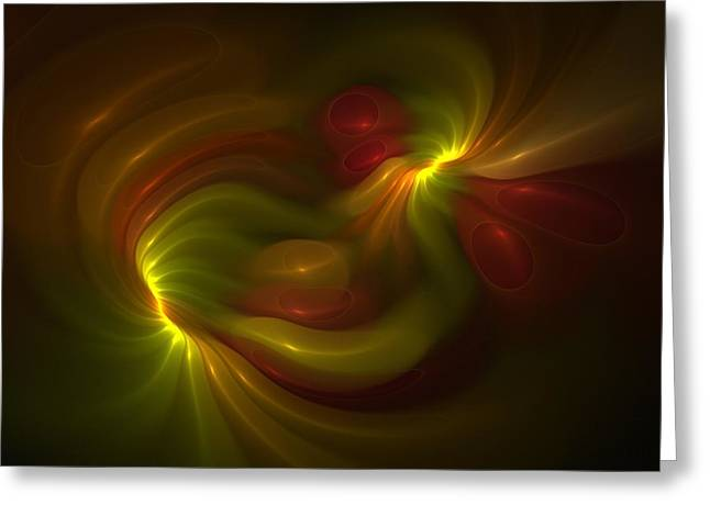 Synesthesia Greeting Cards - Synesthesia Greeting Card by Doug Morgan