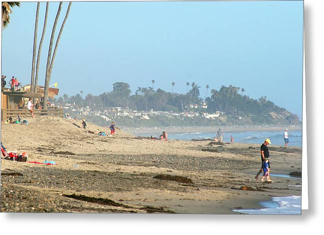 T Street Beach Greeting Cards - T-Street Greeting Card by Kathryn Kay