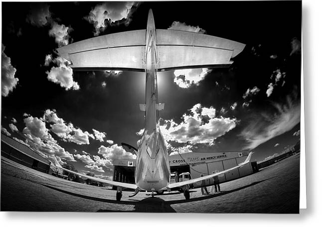 T Wing Greeting Card by Paul Job