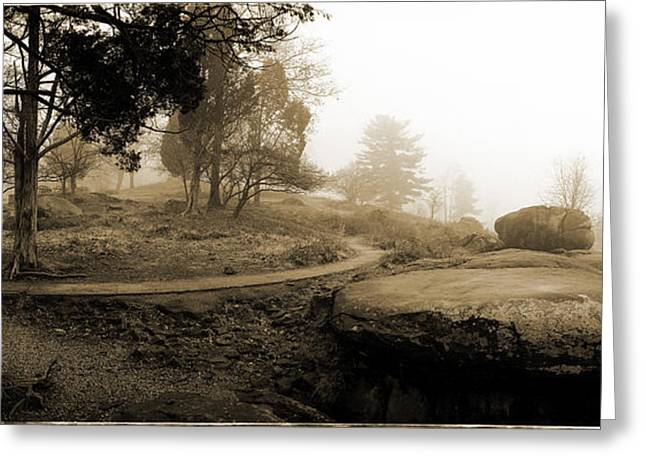 Recently Sold -  - Devils Den Greeting Cards - Table Rock Gettysburg Greeting Card by Jan Faul