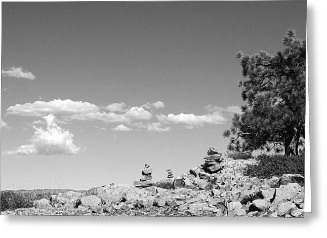 Tahoe National Forest Greeting Cards - Tabletop Mountain Greeting Card by Nathan Anglin