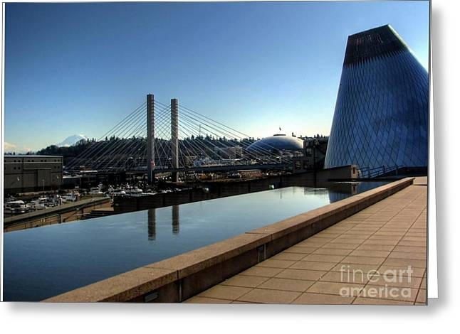 3 Exposure Greeting Cards - Tacoma Icons Greeting Card by Chris Anderson