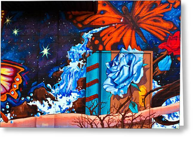 Tears Greeting Cards - Tahlequah Graffiti Greeting Card by Sennie Pierson