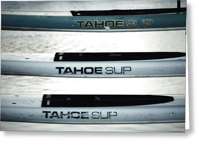 Sup Greeting Cards - Tahoe Sup Greeting Card by Mark  Ross