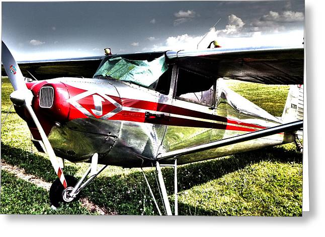Tail-draggers Greeting Cards - Taildragger Greeting Card by Scott Perkins