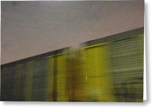 Take a Fast Train Greeting Card by Guy Ricketts