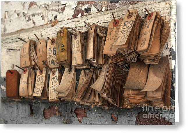Left Behind Greeting Cards - Take a Number Greeting Card by Terry Rowe