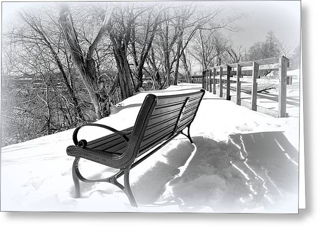 Virginia Landscape Greeting Cards - Take A Seat And Cool Off Greeting Card by Todd Hostetter