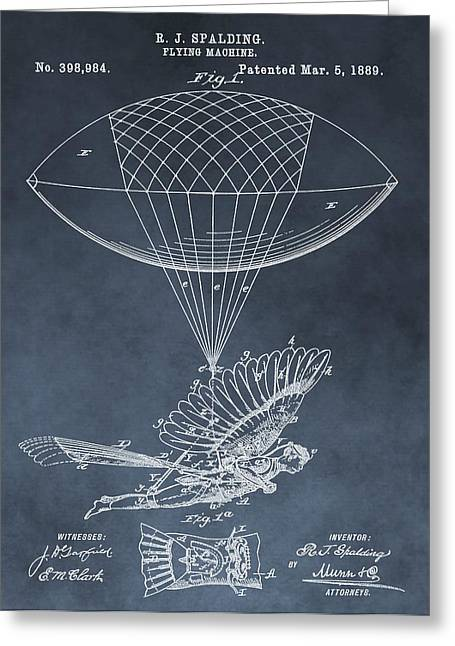 Helium Greeting Cards - Take Flight Greeting Card by Dan Sproul