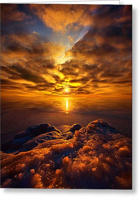 Lent Greeting Cards - Take Hold of Me with Your Love Greeting Card by Phil Koch