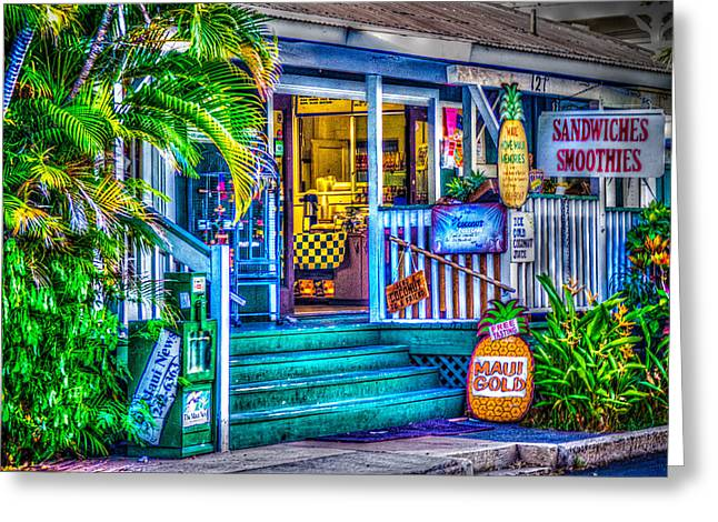 Colorful Photography Greeting Cards - Take Home a Bit of Maui  Greeting Card by Tamara Dattilo