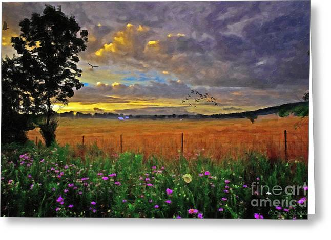 Take Me Home Greeting Card by Lianne Schneider