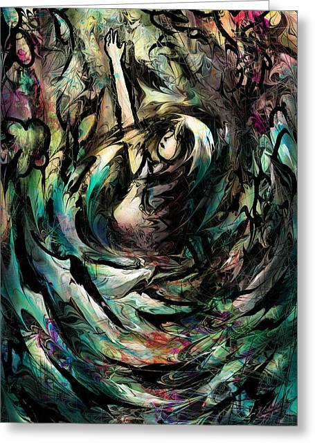 Storm.life Greeting Cards - Take me Lord study Greeting Card by Rachel Christine Nowicki