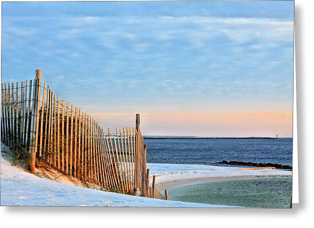Beach Theme Greeting Cards - Take me to Destin Greeting Card by JC Findley
