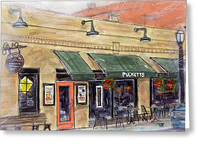 Take Me To Pucketts Greeting Card by Tim Ross