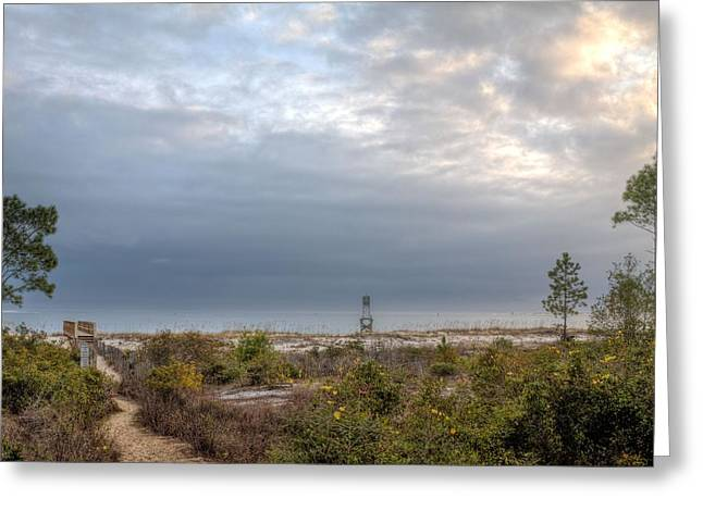 Florida Panhandle Greeting Cards - Take me to the Beach Greeting Card by JC Findley