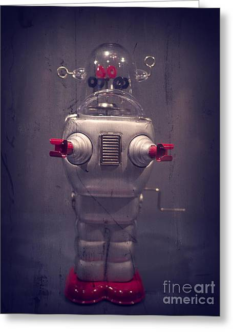 Sci-fi Photographs Greeting Cards - Take Me To Your Leader Greeting Card by Edward Fielding