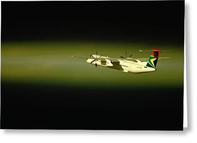 Express Greeting Cards - Take Off II Greeting Card by Paul Job