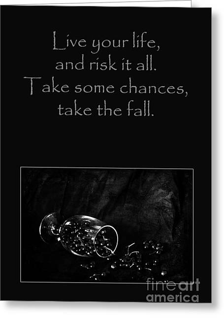 Photographic Art For Sale Greeting Cards - Take Some Chances Greeting Card by Randi Grace Nilsberg