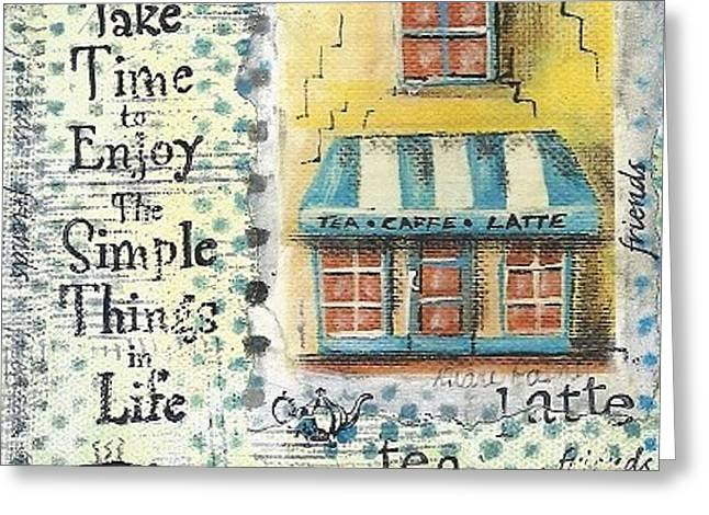 Take The Time Greeting Card by Diane Palmer